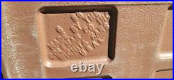 Vintage 1960s Coleman Cooler Beige/Brown Diamond Pattern 656 Rare