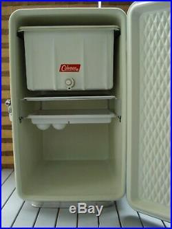 Vintage 1960s Coleman Diamond Logo Snow-Lite Station Wagon and Marine Cooler