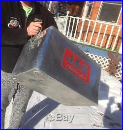 Vintage 1960s Metal Jax Beer Picnic Cooler Sign Bar Man Cave NICE SHAPE Texas LA