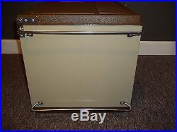 Vintage 1981 Metal Coleman Convertible Cooler WithAccessories EXCELLENT