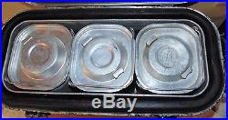 Vintage 1982 US Army Military Insulated Hot Cold Food Container Cooler Metal Box