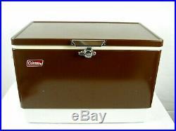 Vintage 80s Coleman Ice Cooler Chest Box 2-80 22.5 x 13.5 x 15.5