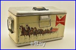 Vintage Budweiser Insulated Metal Cooler