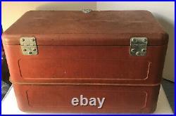 Vintage Budweiser Metal Cooler 1950s Anheuser-Busch St. Louis Mo
