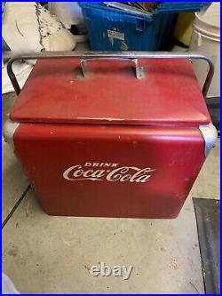 Vintage COCA-COLA Ice Cooler Chest ACTON MFG CO