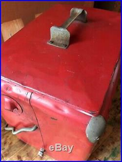 Vintage Coke Cooler, Coca Cola Cooler, Coca Cola Collectibles, Metal Beer Cooler