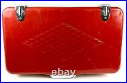 Vintage Coleman Cooler Diamond Logo Series Red 60s