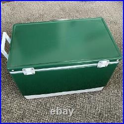 Vintage Coleman Metal Cooler 1984 Green