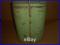Vintage Dr Pepper Metal Cooler/Ice Chest, Smaller Size, Restoration Project