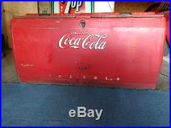 Vintage Embossed Coca Cola Metal Cooler Chest Bottle Openers. RARE not many left