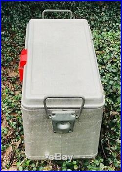 Vintage Hamilton Skotch Cold Flyte Aluminum Beverage Cooler Mid Century Rare