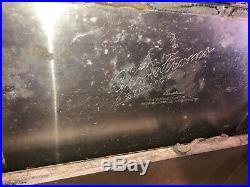 Vintage Hawthorne Cronstroms Western Field Metal Cooler Ice Chest