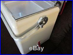 Vintage Iroquois metal cooler
