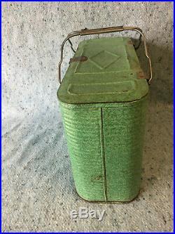 Vintage Koolocker Soda Beer Picnic Cooler Coke Pepsi 7 up Ice Chest Carrier