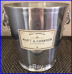 Vintage Moet Chandon Champagne Cooler Bucket Vgc Looks Unused