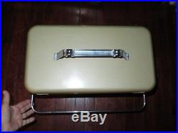 Vintage NOS 1960's THERM-A-CHEST COOLER Knapp Monarch WithDrain Plug & Can Opener