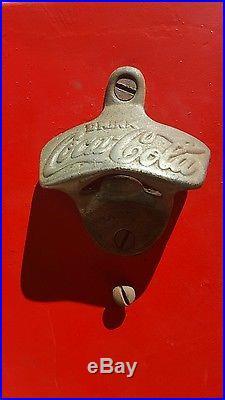 Vintage Nesbitt's Soda Pop Metal Bottle Cooler