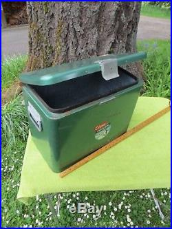 Vintage Old Coleman Penguin Metal Cooler-orig Cond&not Bad-18x13 3/4x10 1/2 Wide