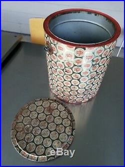 Vintage Schaefer Metal Beer Cooler GIANT ICE BUCKET ORIGINAL AUTHENTIC