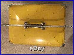 Vintage Squirt Cooler 1950s Embossed Metal Eigh Tray