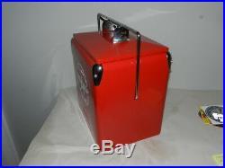 Vintage Style Flying A Gasoline Cooler- Metal- Vintage Service Station- Gas Pump