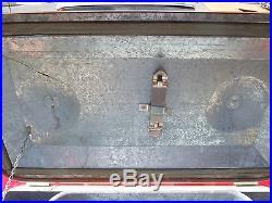 Vintage Therm A Chest Zinc Lined Cooler Ice Chest Box RARE NOS Original Box