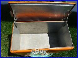 Vintagebright Orange Nesbitt's Soda Cooleroriginal Metalgreat Pop Display
