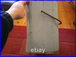 Vintagerare Pepsi Cola Embossed Metal Light Blue Picnic Cooler
