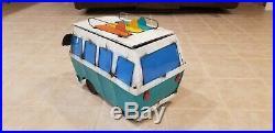 Volkswagen VW Bus Van Cooler Party Decor Retro Classic ice chest recycle metal