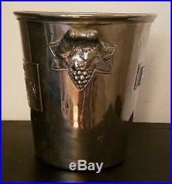 Vtg Piper-Heidsieck Reims French Art Deco Champagne Ice Cooler Bucket France