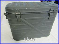 Vtg US Military Lasko 1961 Food Cooler Metal Storage Insulated Container Vietnam