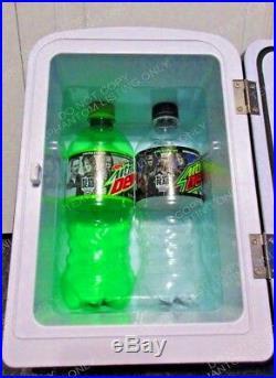 Walking Dead Mountain Dew Uber Chill Mini Refrigerator Cooler Promo Soda Decals