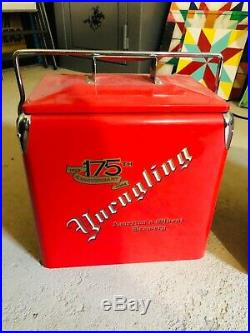 Yuengling 175th anniversary metal cooler with built in bottle opener EXT RARE