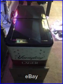 Yuengling Metal Retro Rolling Deck Cooler New With Box Extremely Rare A+
